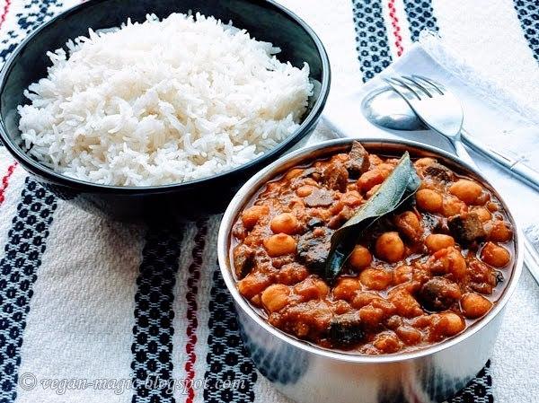 Chickpea Mushroom Curry4